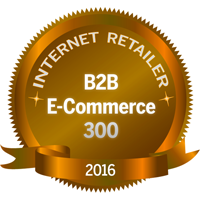 Included in 2016 B2B E-Commerce 300, ranked 254